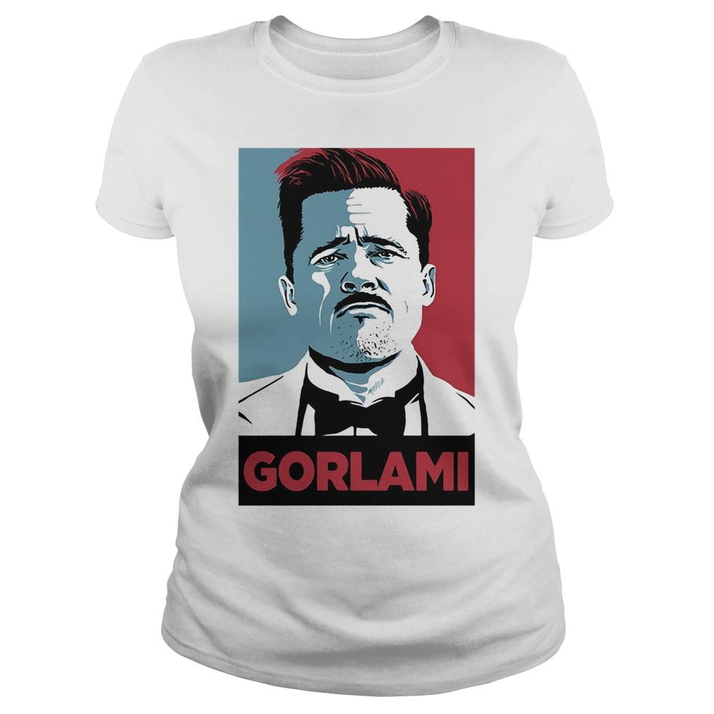 Aldo Raine Gorlami shirt