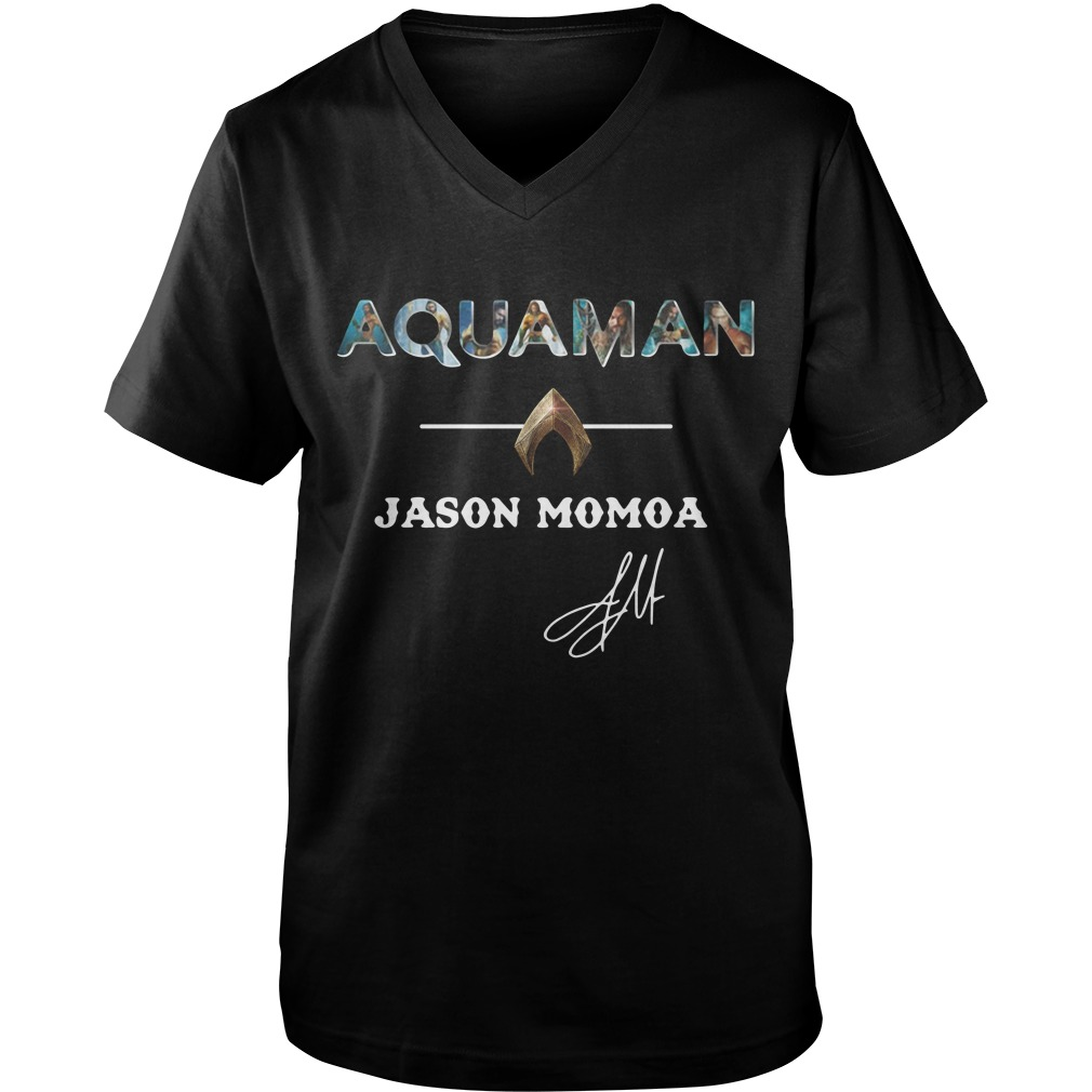 Aquaman Jason Momoa Guy V-Neck