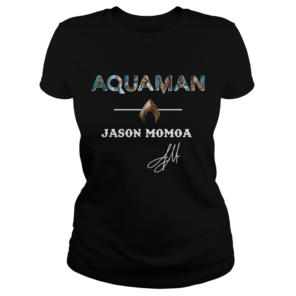 Aquaman Jason Momoa Ladies Tee