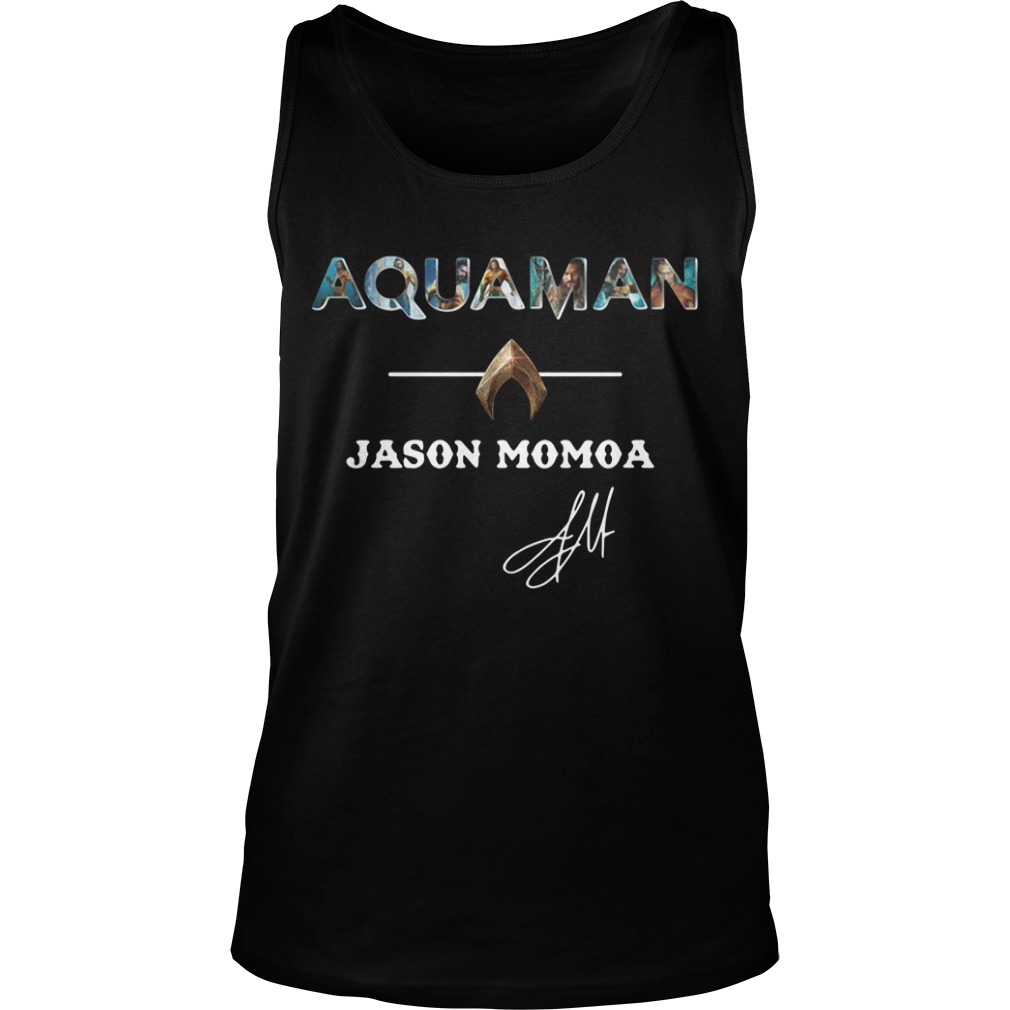 Aquaman Jason Momoa Tank Top