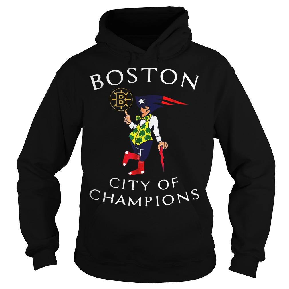 Boston Sports Teams city of champions Hoodie
