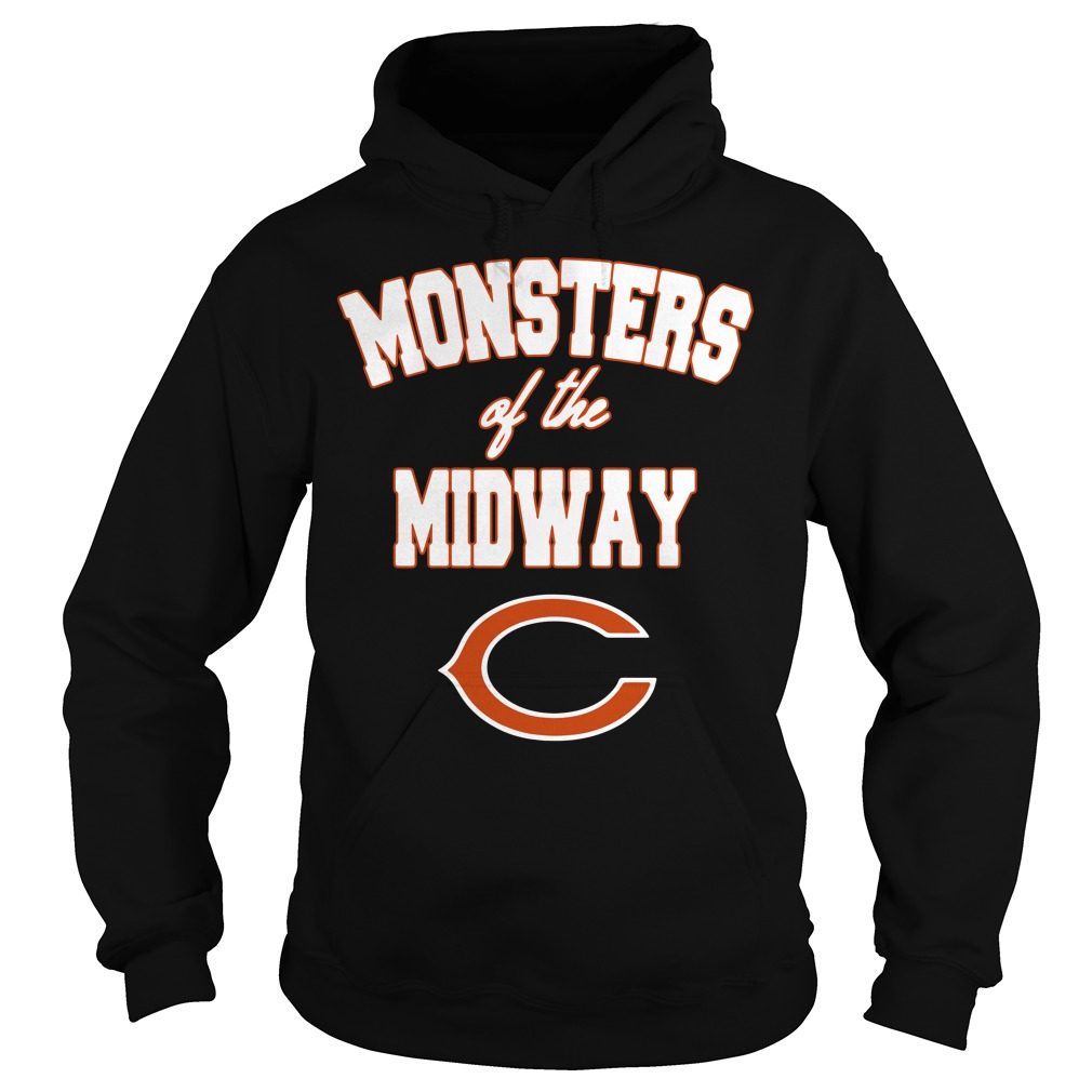Chicago Bears Monster of the midway Hoodie