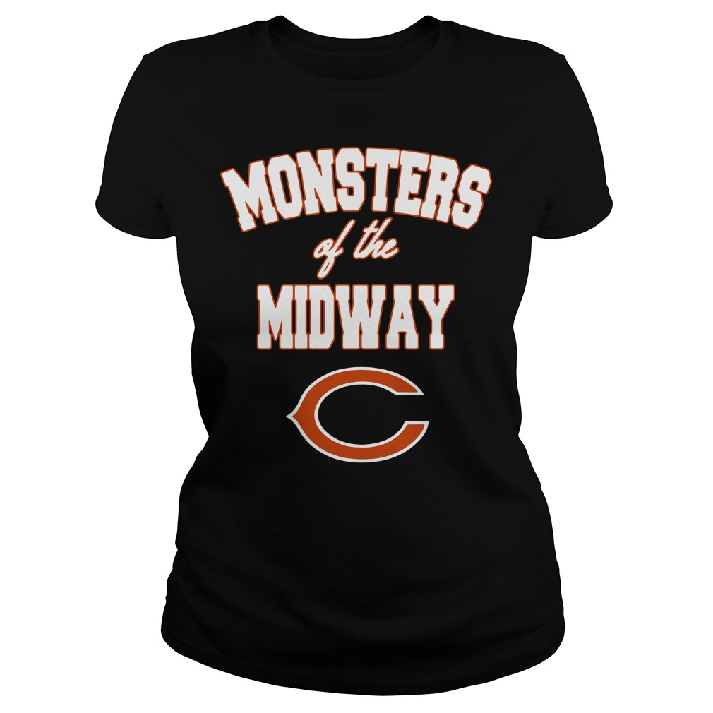 Chicago Bears Monster of the midway Ladies Tee