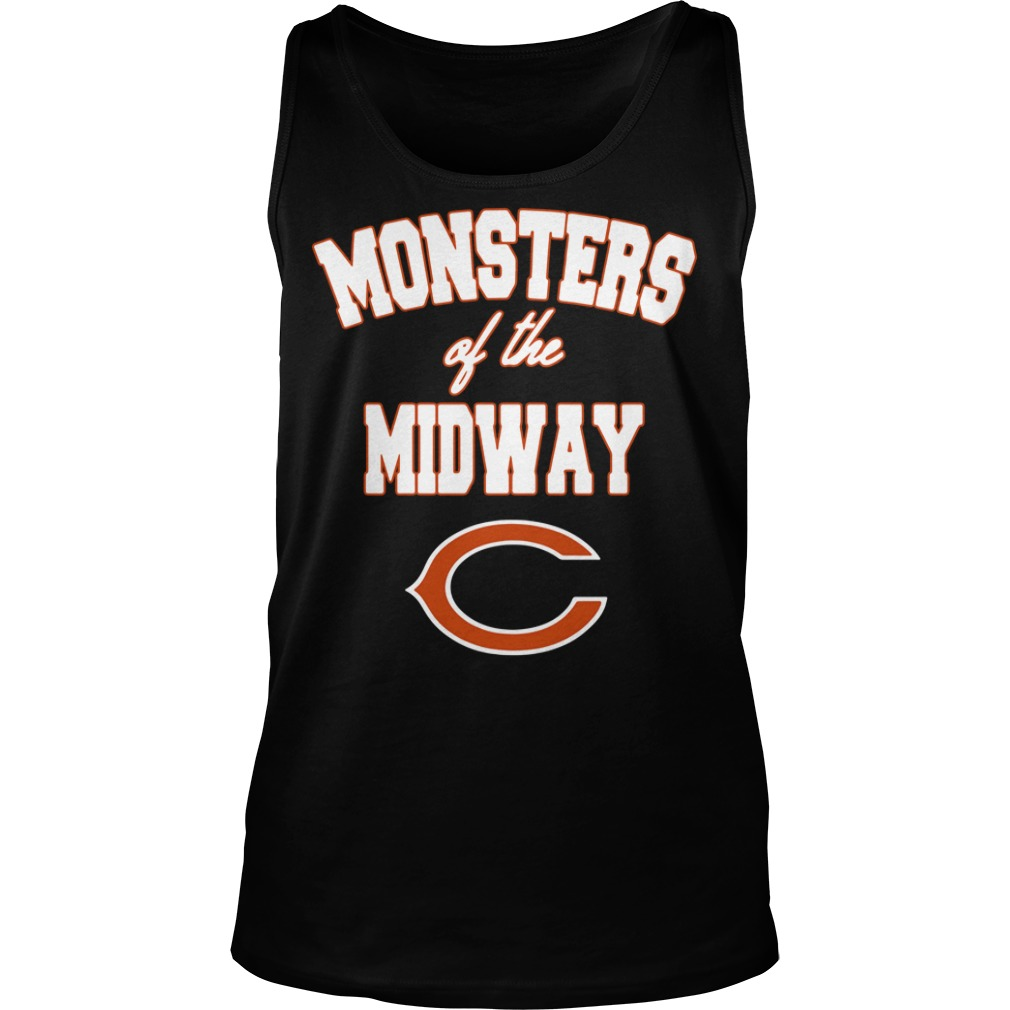 Chicago Bears Monster of the midway Tank Top