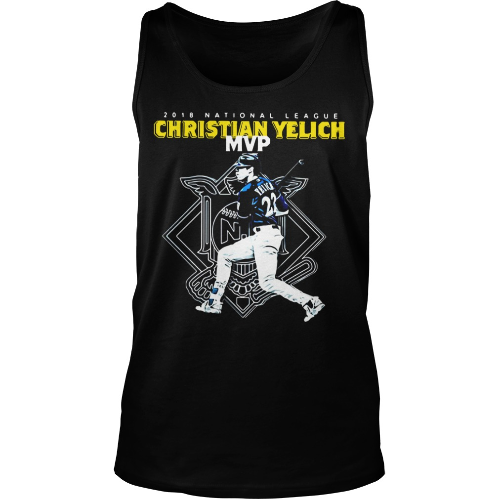 Christian Yelich MVP 2018 national league Tank Top