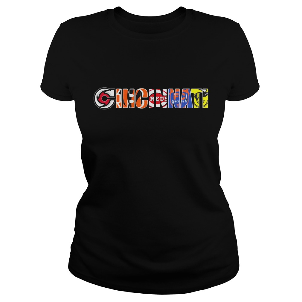 Cincinnati sport teams Ladies Tee