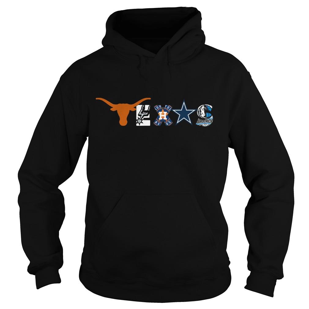 Cowboys Texas Missing Mavs, Rangers, Stars Hoodie