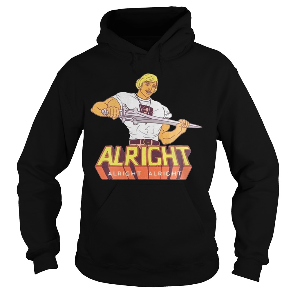 Custom Cosmos masters of the universe he man alright Hoodie