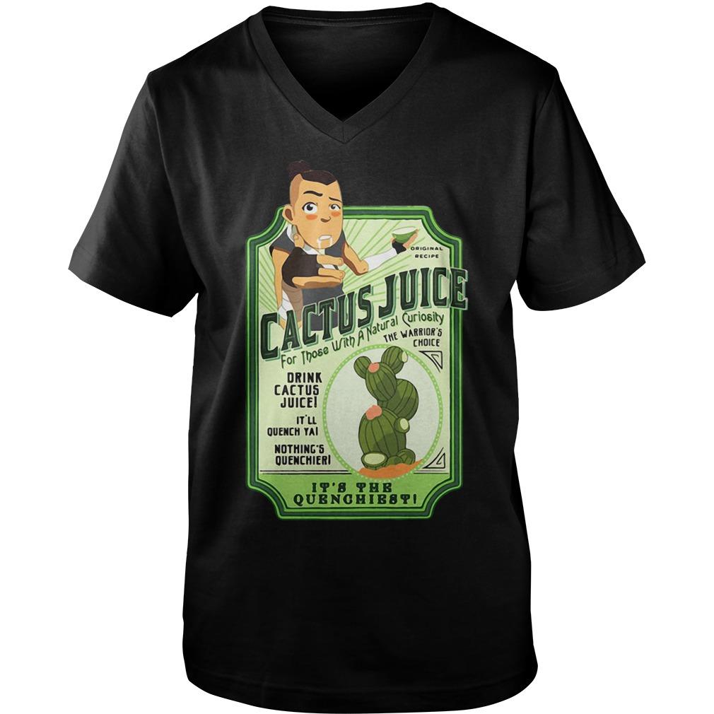Drink Cactus juice Guy V-Neck