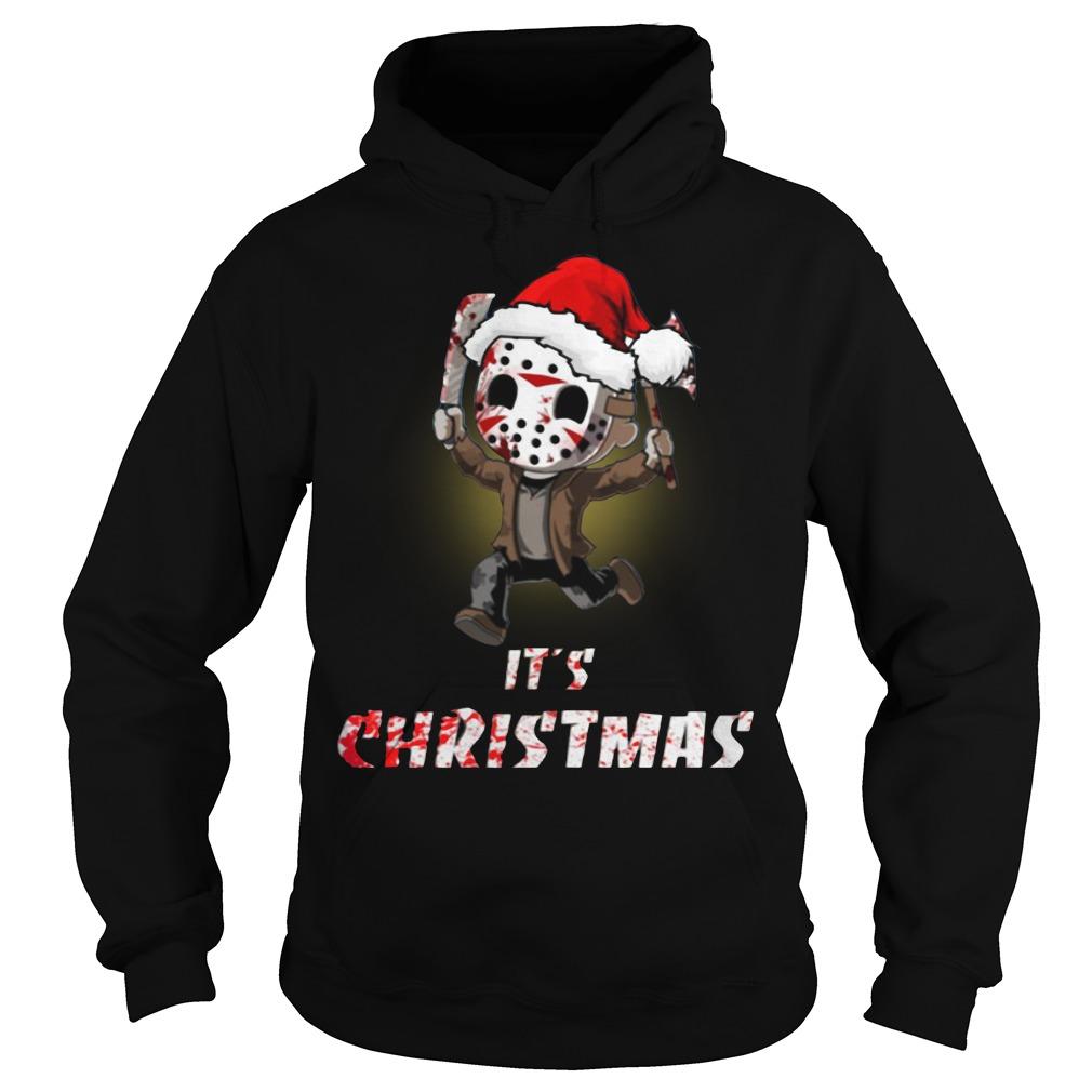 Jason Voorhees It's Christmas Hoodie