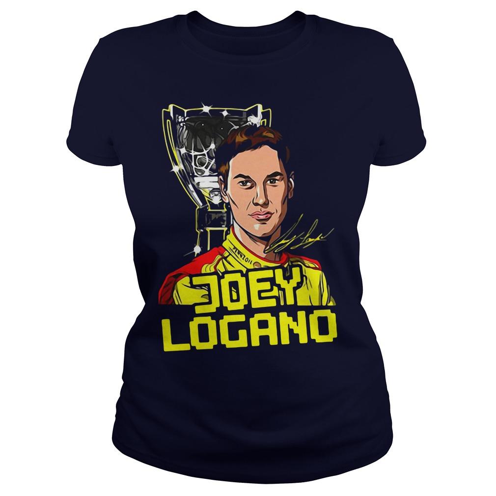 Joey Logano 2018 NASCAR Champion Ladies Tee