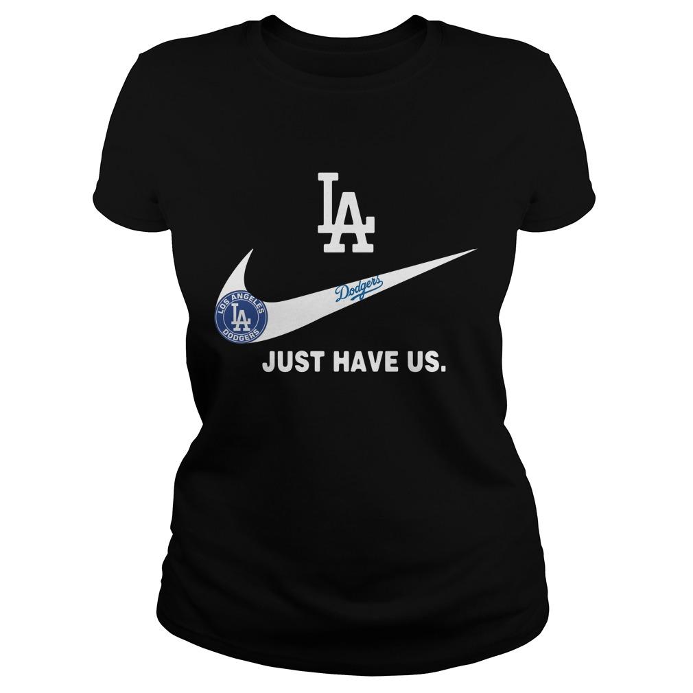 Los Angeles Dodgers Nike Just have us Ladies Tee