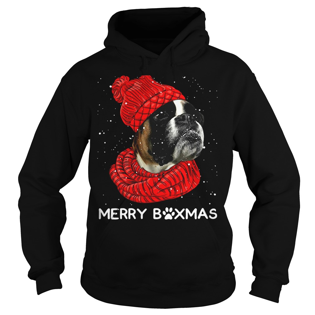 Merry Boxmas Christmas Hoodie