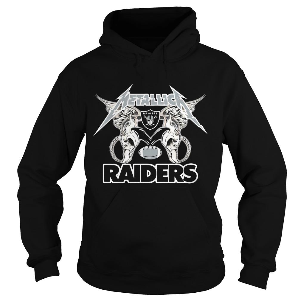 Metallica Oakland Raiders Hoodie