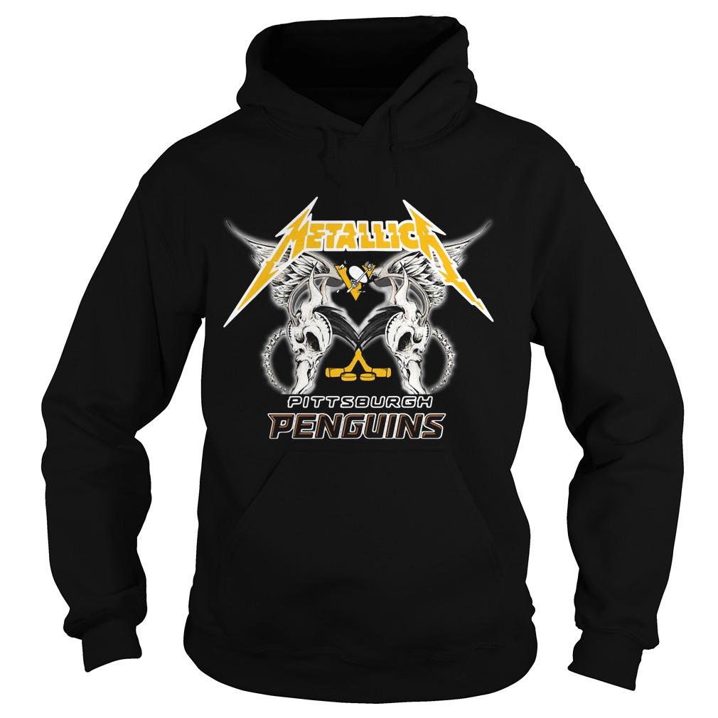 Metallica Pittsburgh Penguins Hoodie