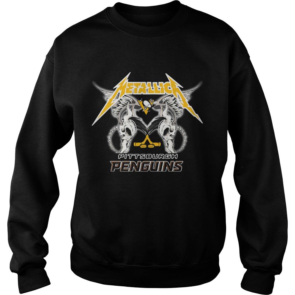 Metallica Pittsburgh Penguins Sweater
