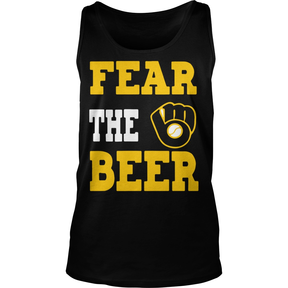 Milwaukee Brewers fear the beer Tank Top