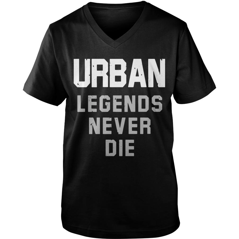 Nicki Meyer Dennis Urban legends never die Guy V-Neck