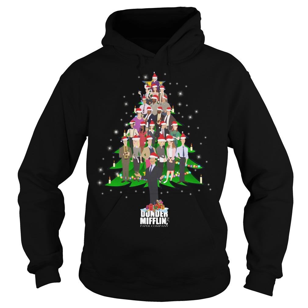 The Office Dunder Mifflin Christmas tree Hoodie
