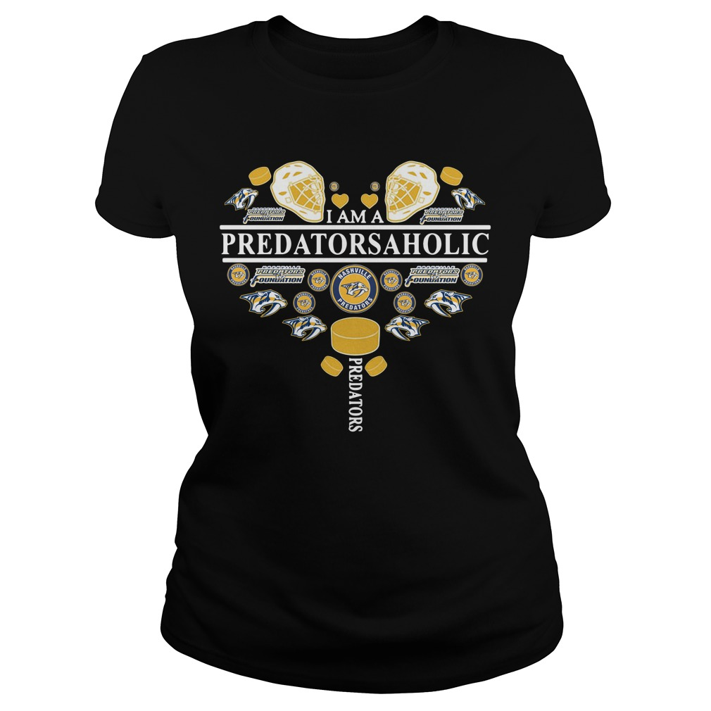 I am a predatorsaholic Ladies Tee