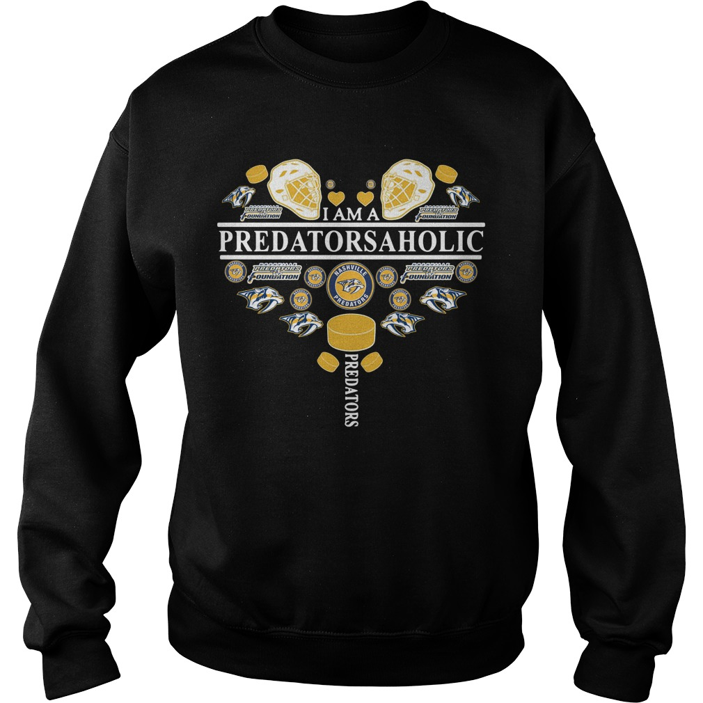 I am a predatorsaholic Sweater