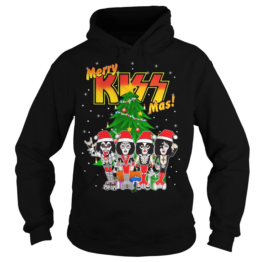 Rock and Roll over kiss merry Kissmas- Kiss Christmas Hoodie