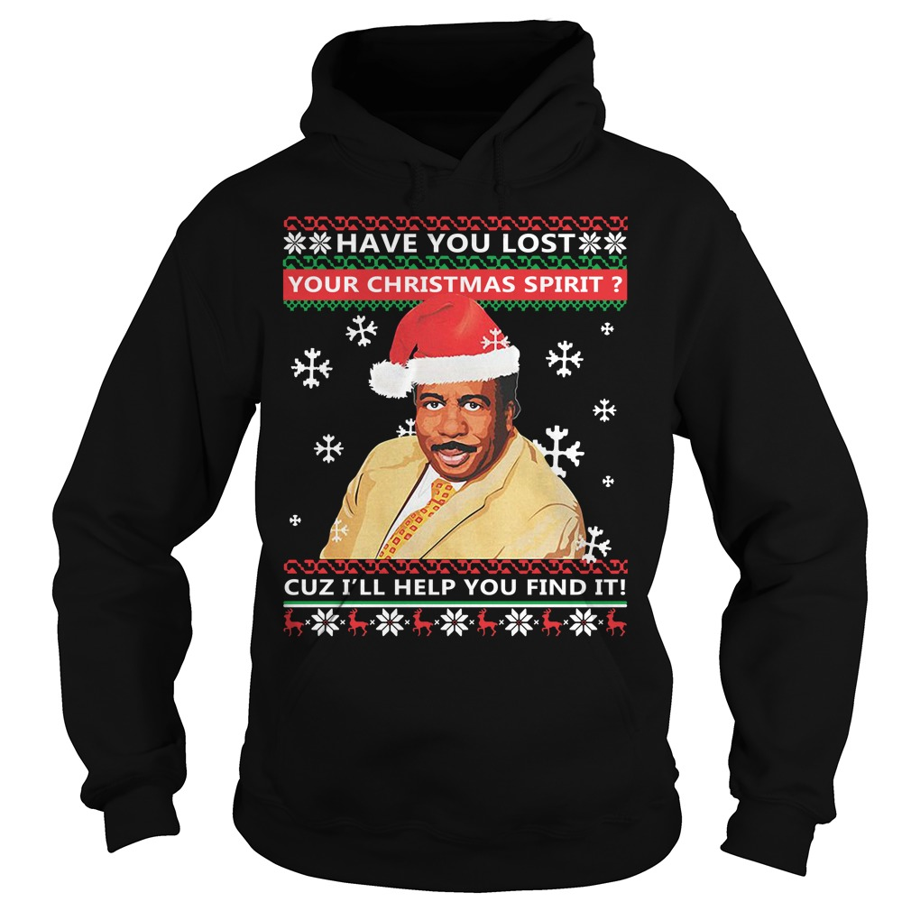 Steve Harvey have you lost your Christmas spirit cuz I'll help you find it Hoodie
