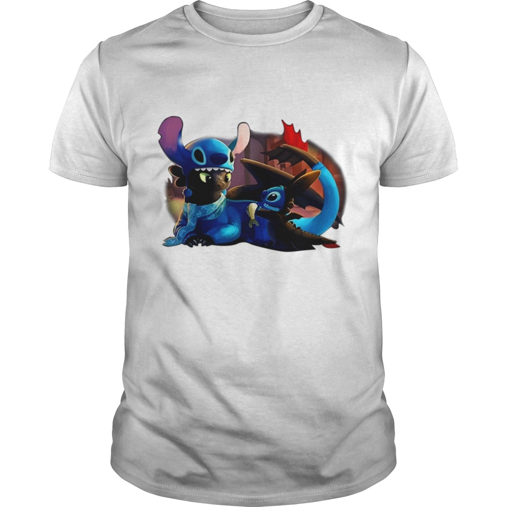 When Toothless and Stitch have sleepovers Guys Tee