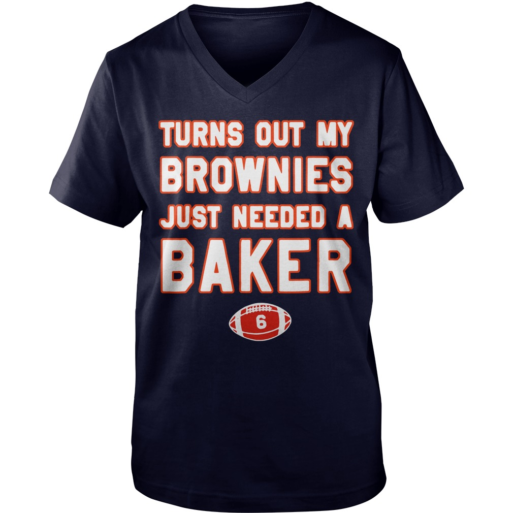 Turns out my brownies just needed a baker 6 Guy V-Neck