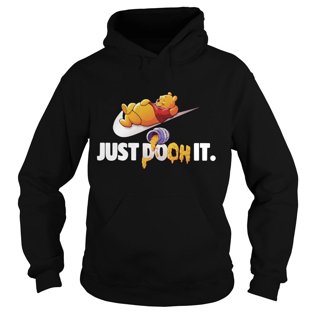 Winnie The Pooh Just do it Hoodie