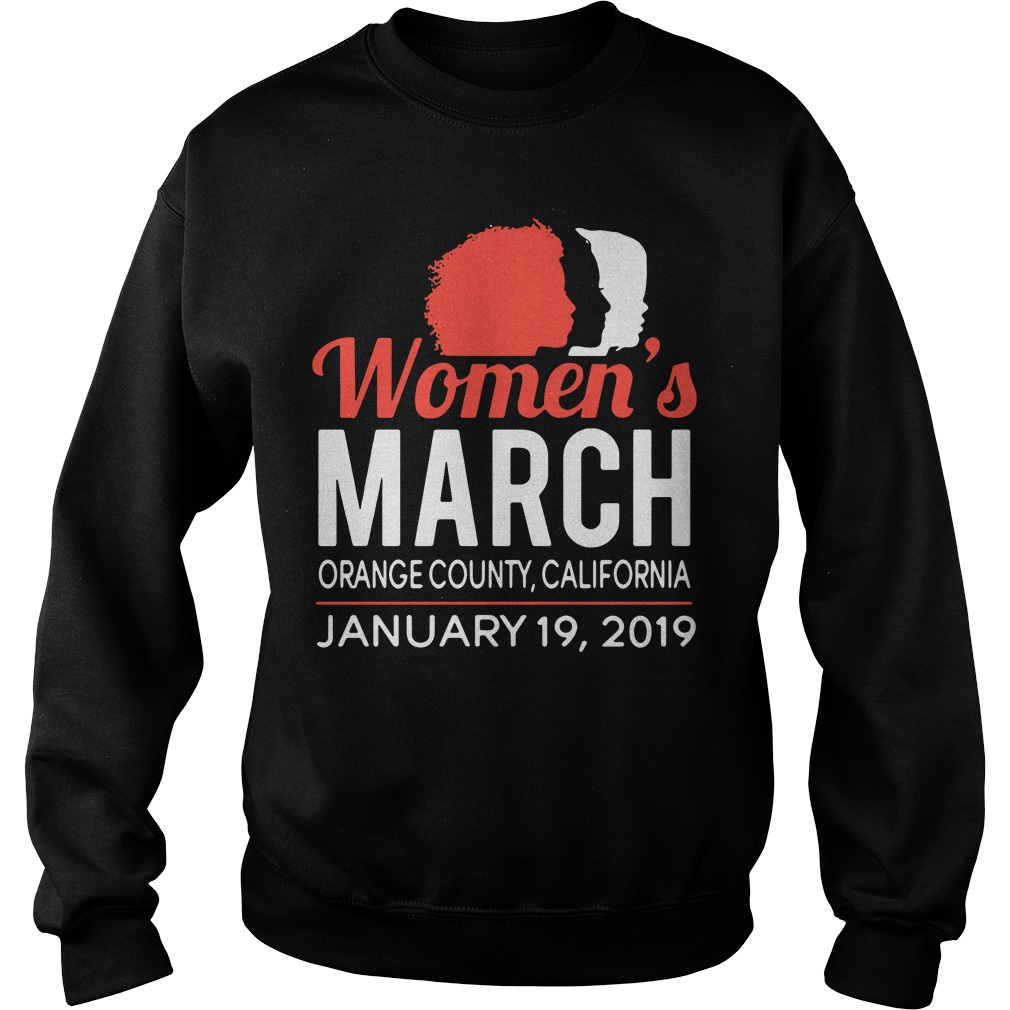 Women's March Orange County California January 19, 2019 Sweater