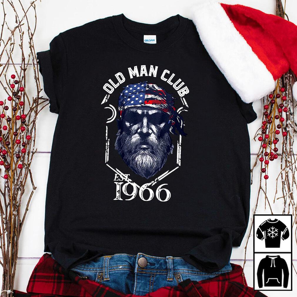 Old man club EST 1966 shirt