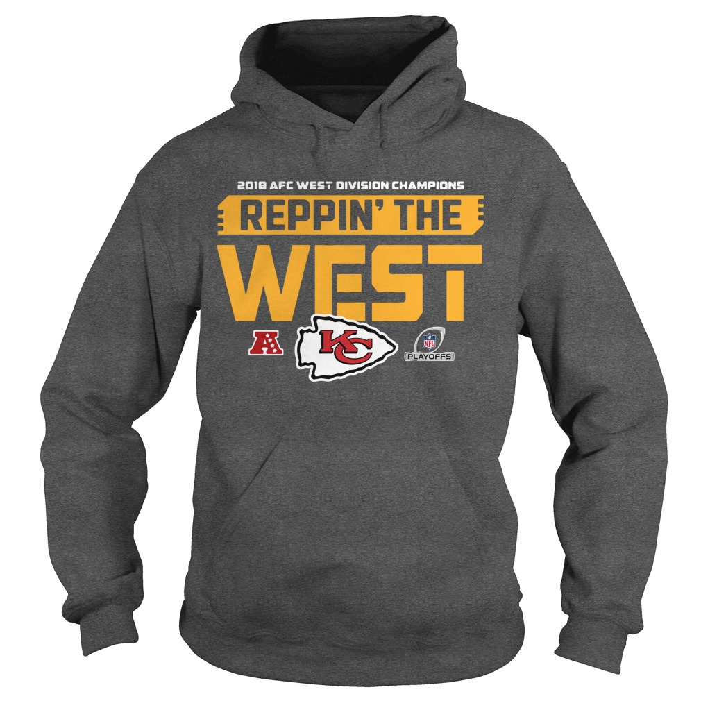 2018 AFC West division champions reppin the west Kansas city Hoodie