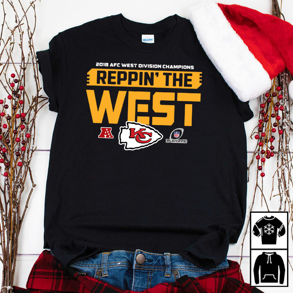 2018 AFC West division champions reppin the west Kansas city shirt