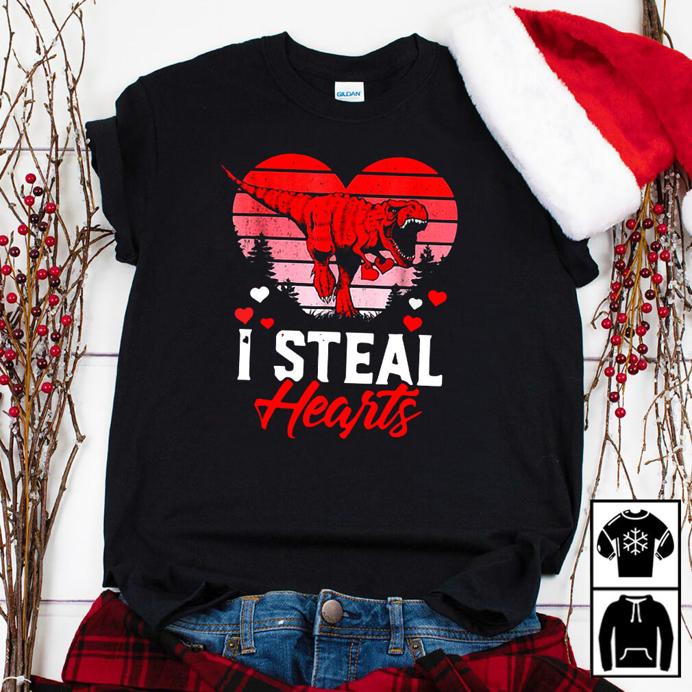 I steal hearts Valentines Day shirt
