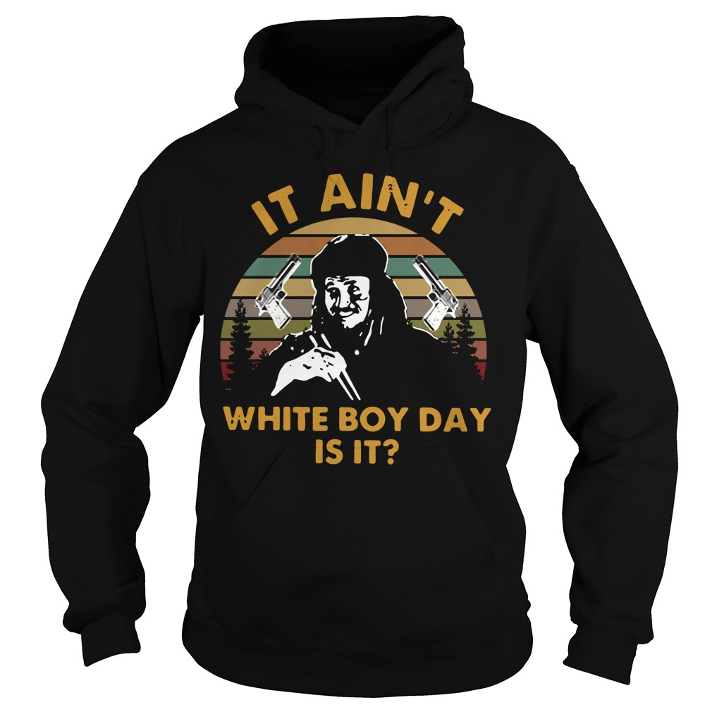 Bin Laden It Ain'T White Boy Day Is It Hoodie