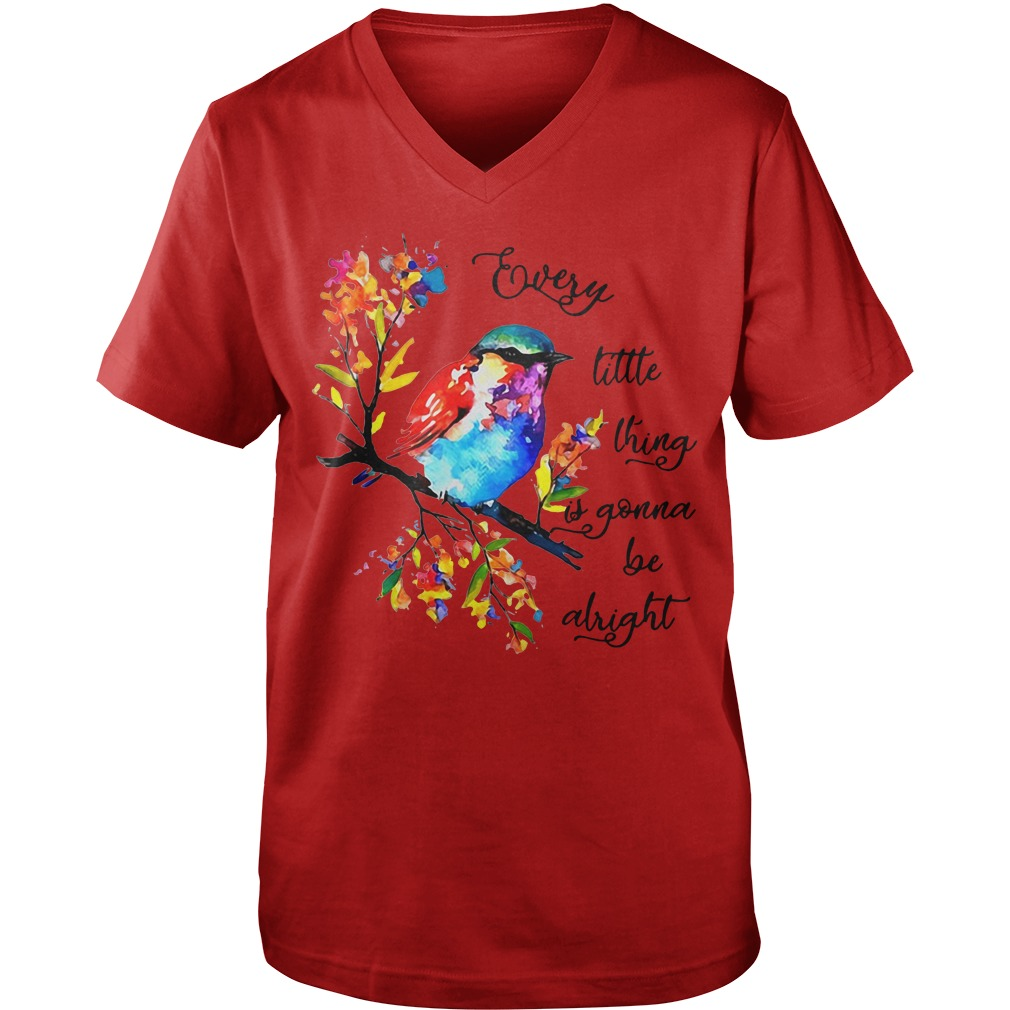 Every little thing it gonna be alright  Guy V-Neck