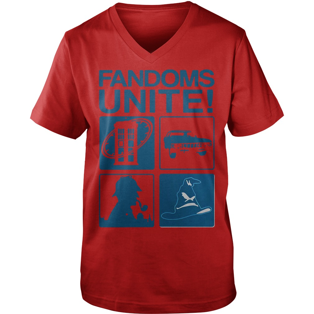 Fandoms unite Guy V-Neck