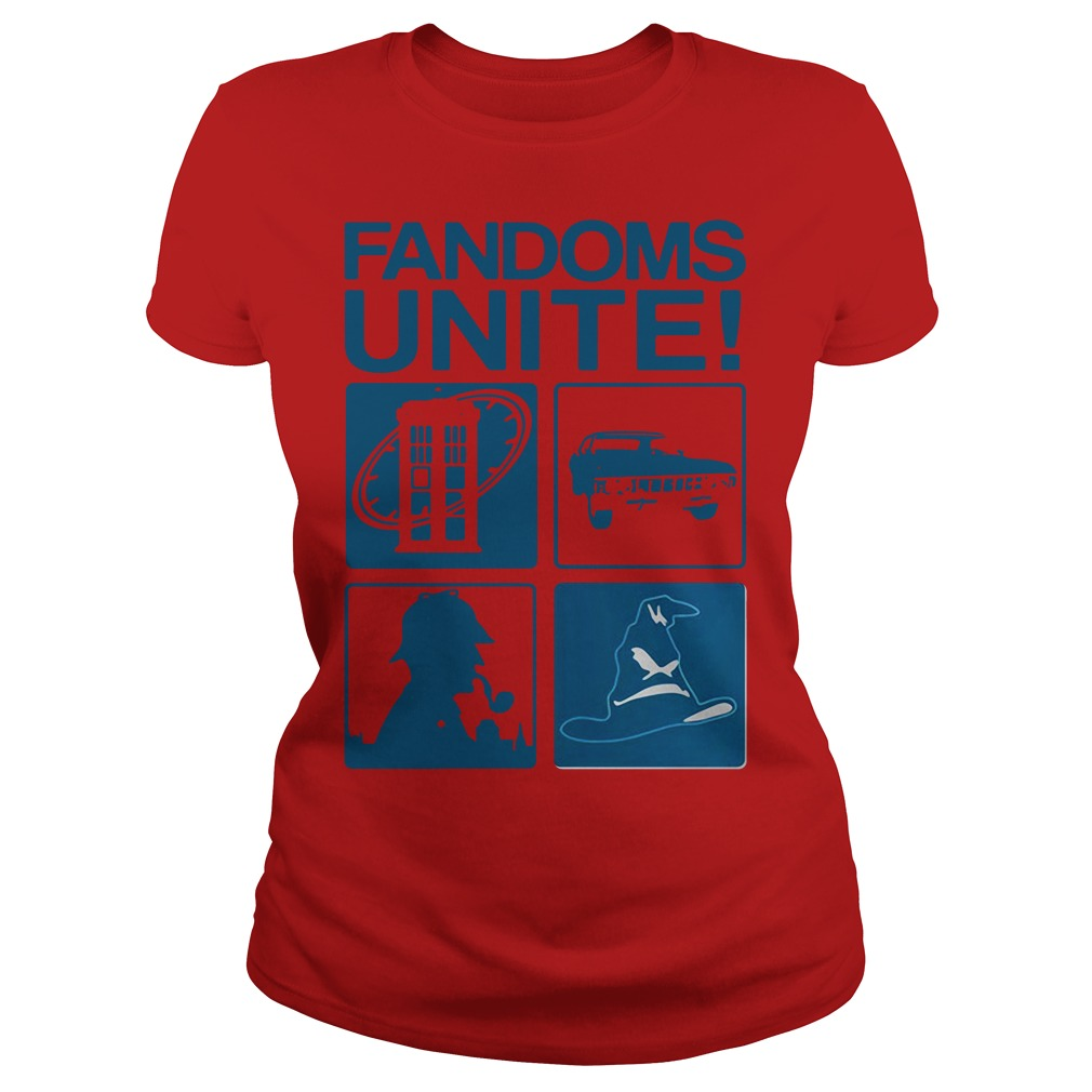 Fandoms unite Ladies Tee