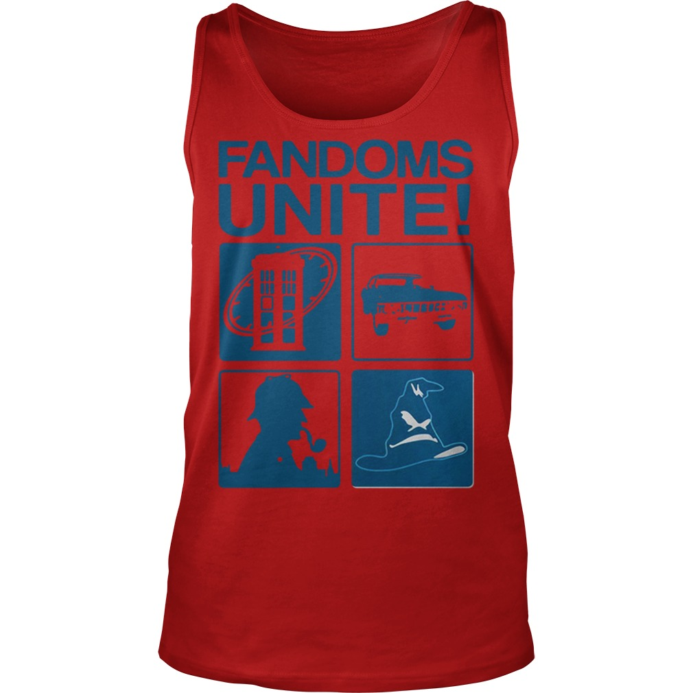 Fandoms unite Tank Top