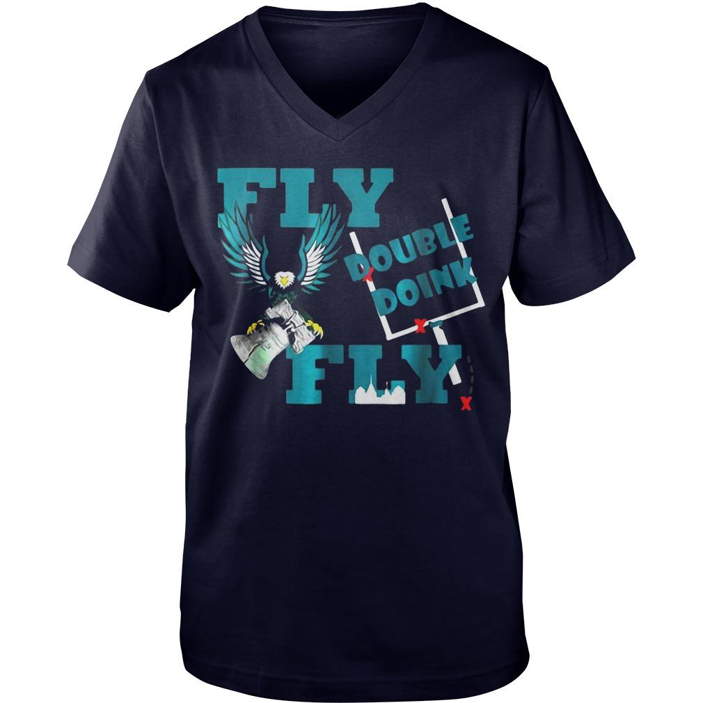 Fly double doink fly Guy V-Neck