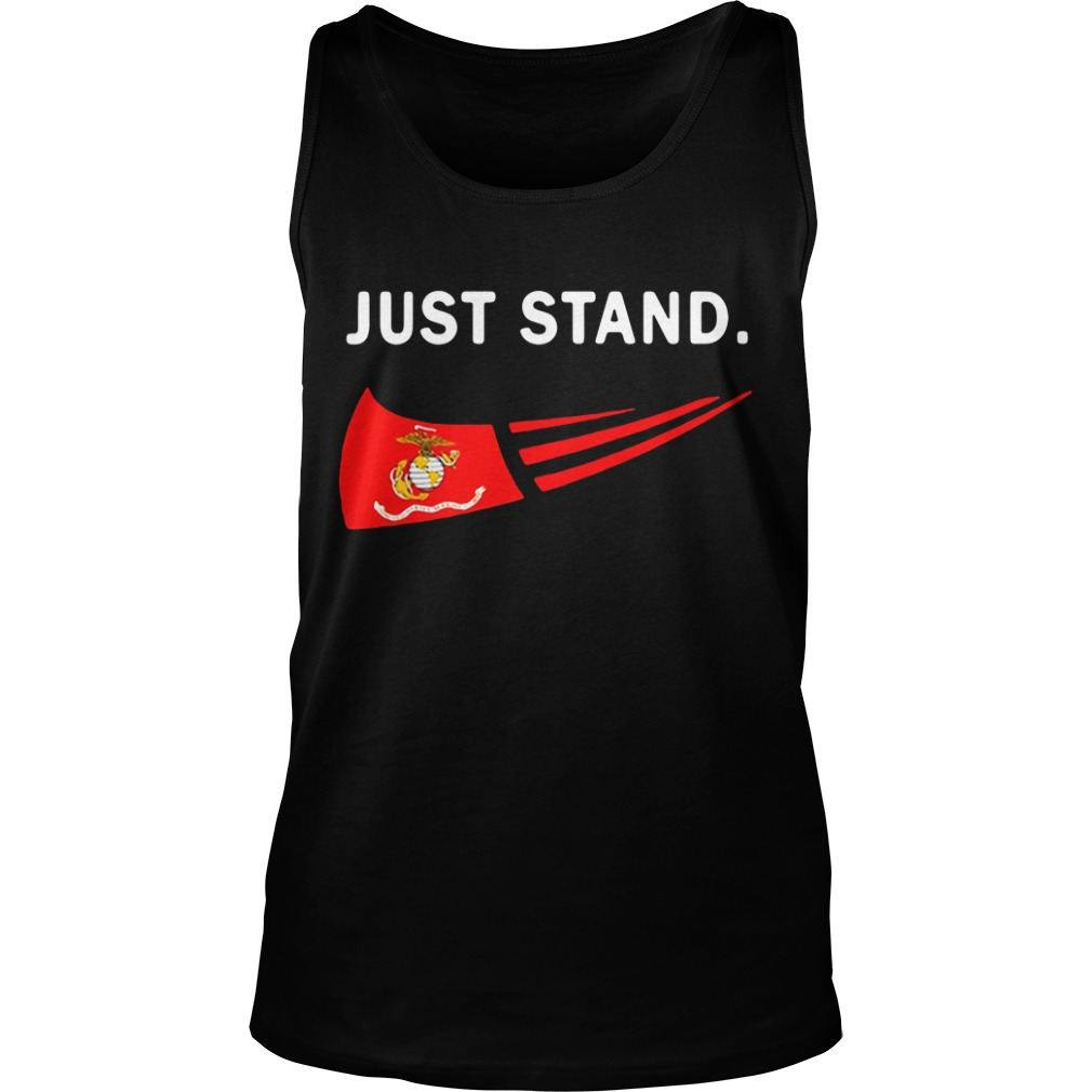 Just Stand USMC US Marines Corps Tank Top