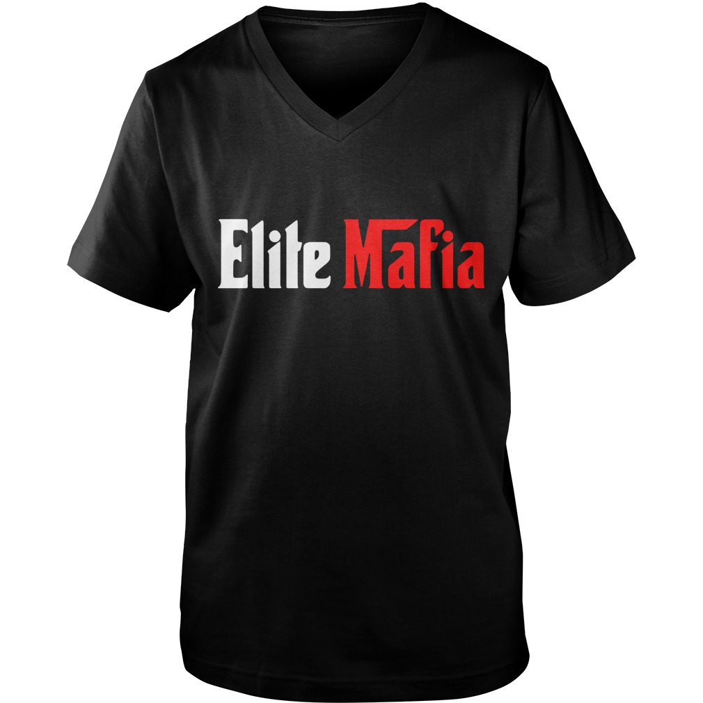 Mike Tomlin Elite Mafia Guy V-Neck