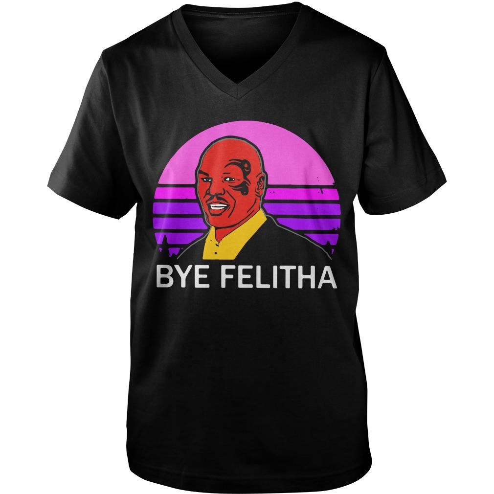 Mike Tyson Bye Felitha Guy V-Neck