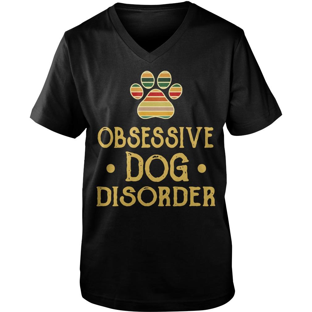 Obsessive dog disorder Guy V-Neck