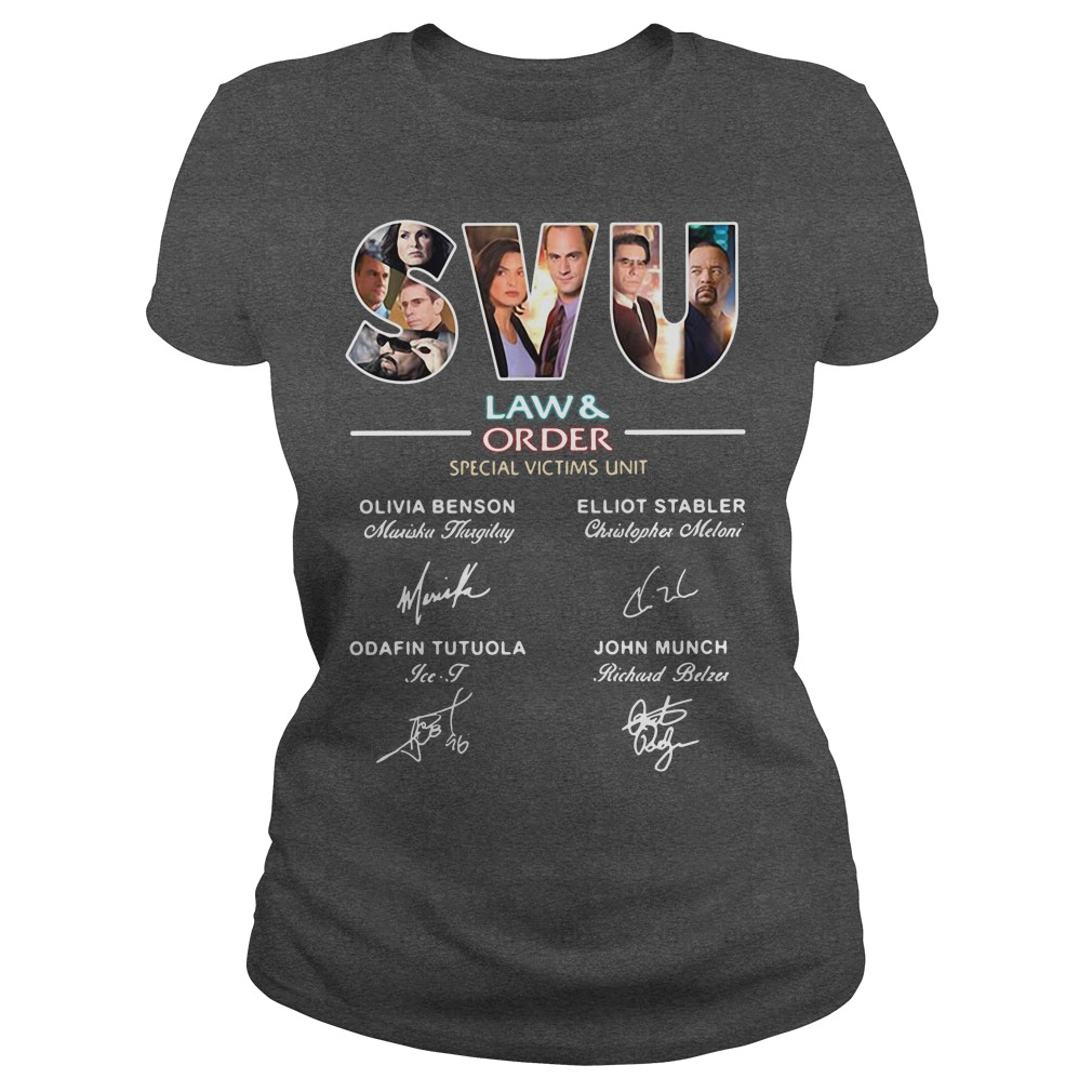 SVU law and order special victims unit Olivia Benson Olliot Stabler kid Ladies Tee