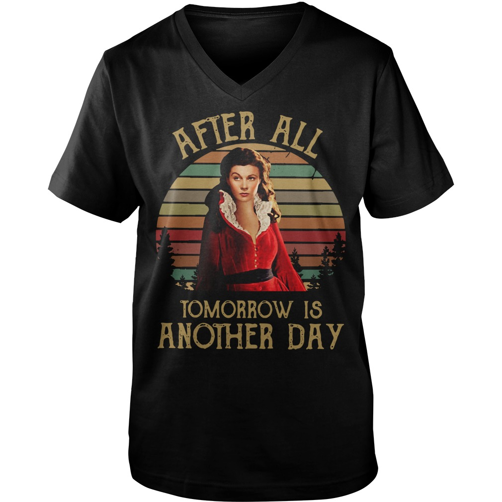 After all tomorrow is another day  Guy V-Neck