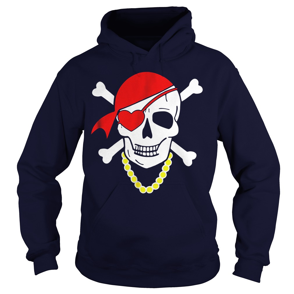Valentine skull and heart Hoodie