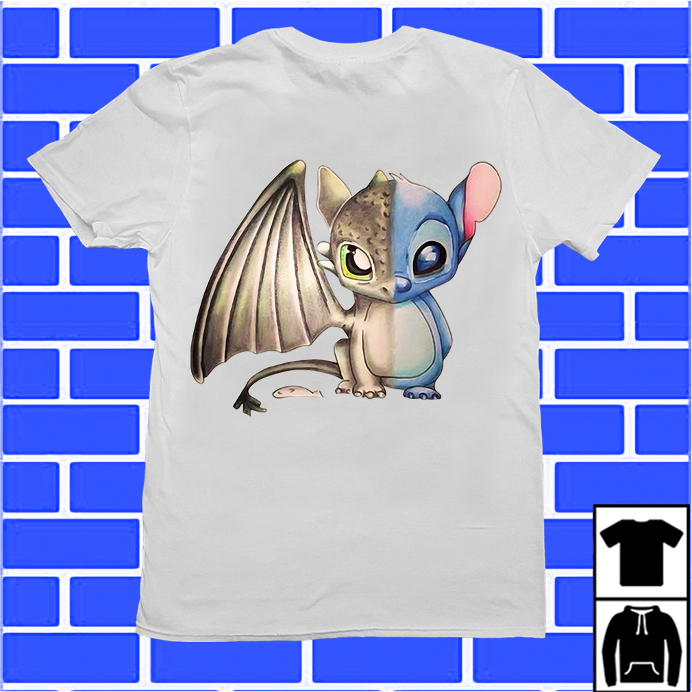 Stitch and Toothless shirt