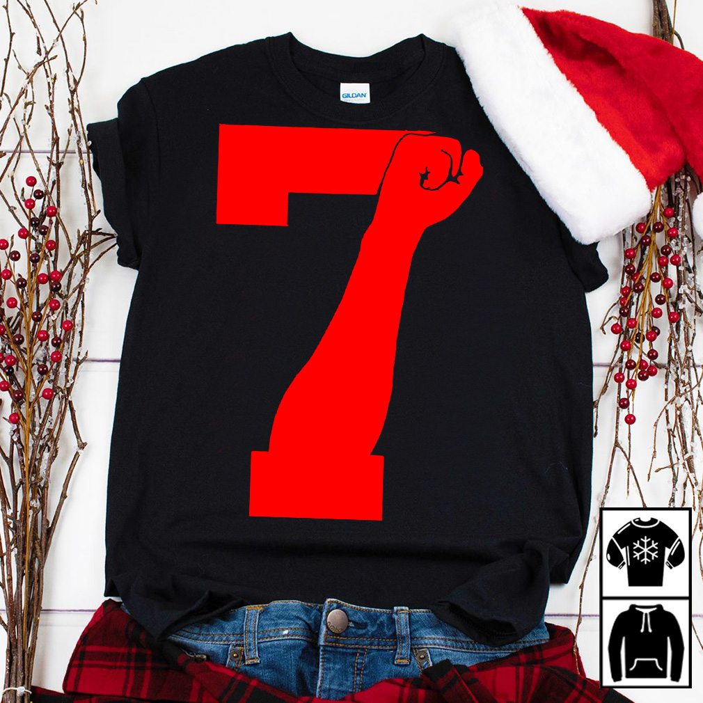 Colin Kaepernick 7 FIST shirt